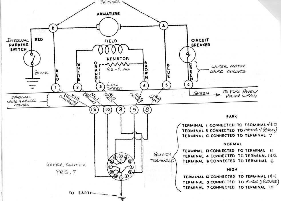 lucas wiper motor park switch - impremedia.net lucas dr3 wiper motor wiring diagram