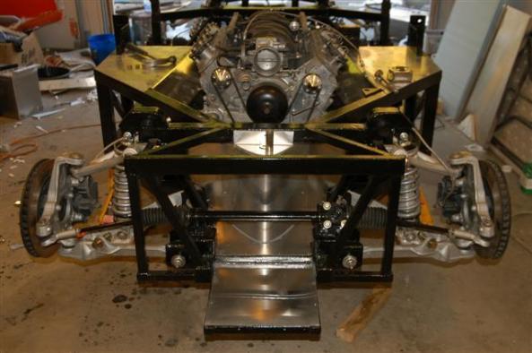 Pics of Cobra space frame with C5 Corvette suspension - Club