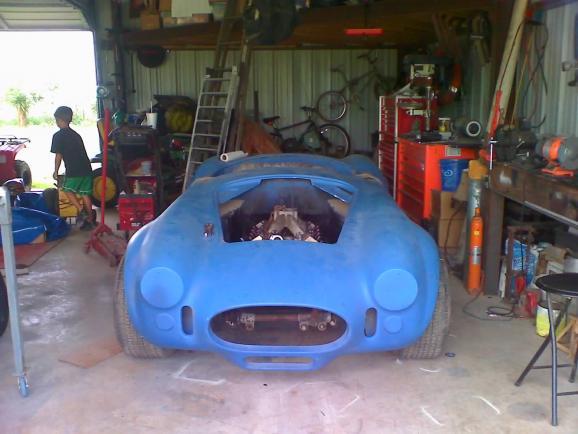 Older Everett Morrison chassis - Club Cobra