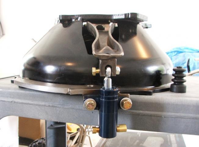 Forte Slave Cylinder Bracket With Original Style Frame