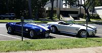 "Unique Motorsports Cobra (left) and Street Beasts 8"" Stretch Cobra (right)"