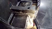 Dropped floor pan going in (Passanger side)