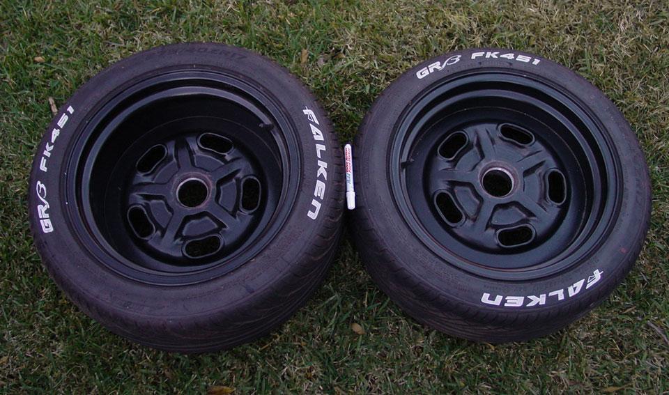 17quot pse wheels falken tires white letters club cobra With 17 white letter tires