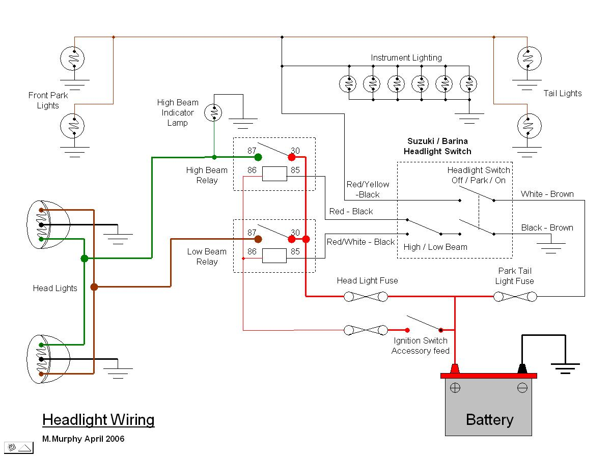 rat rod wiring diagram