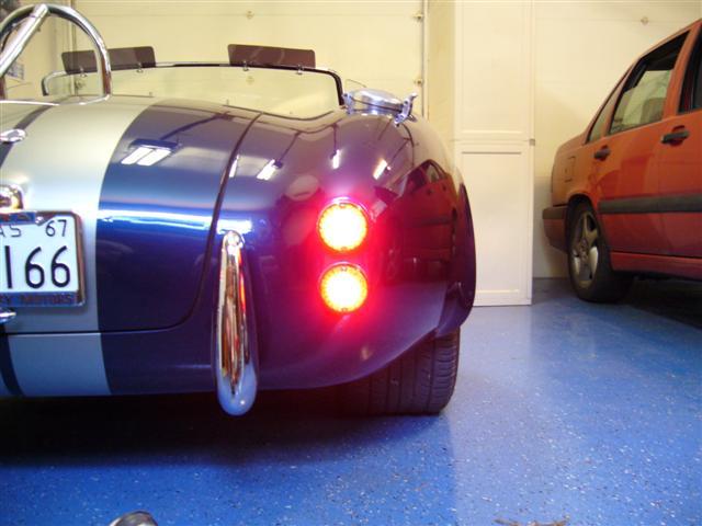 LED Tail Lights - Again - Club Cobra