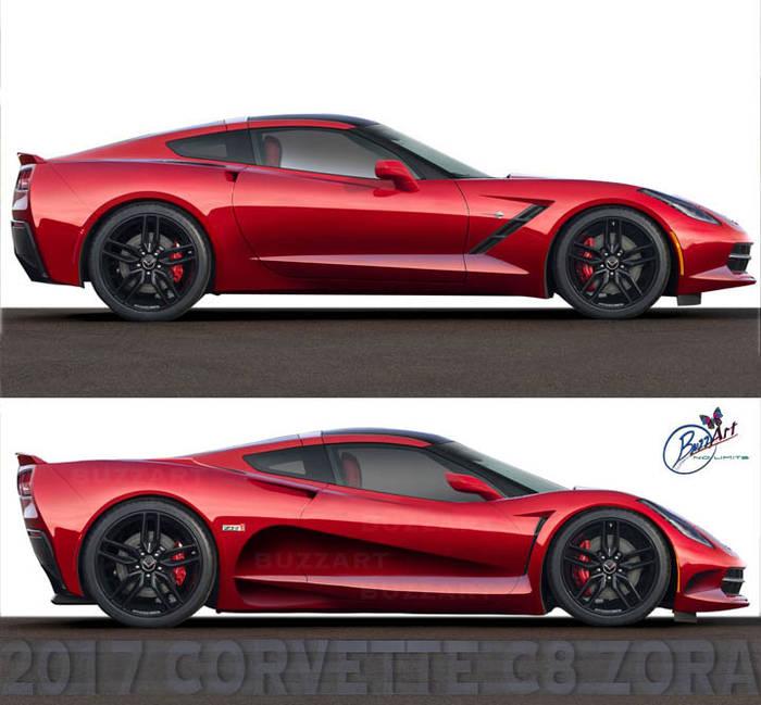 2017 C8 Corvette concept - Club Cobra Photo Gallery