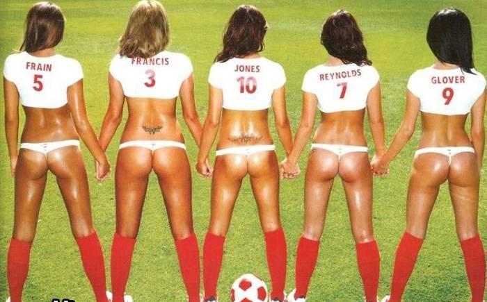 Soccer Hot World Cup Ass
